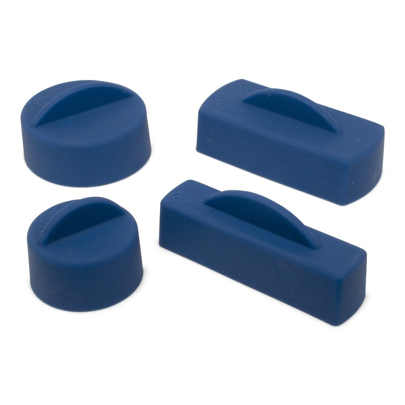 Keco Cold Glue Tabs and Silicone Caps - 4 tabs