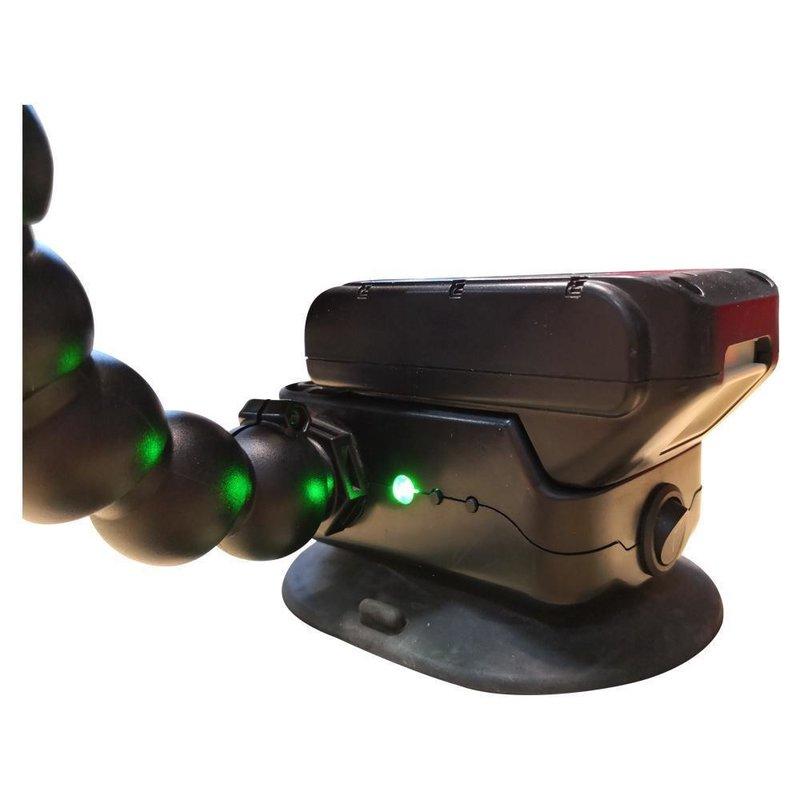 "Elimadent 14"" (35cm) 6-LED regulables para Makita con ventosa automática"