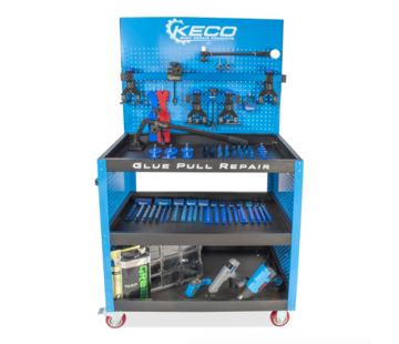 KECO Keco Level 1 Glue Pull Collision Pro kit with cart