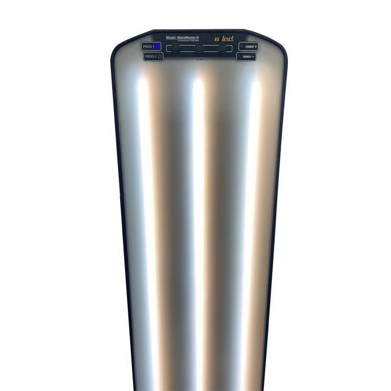 "DNE MaksMaster 38"" (97 cm) lamp 6-LED-strips met statief"