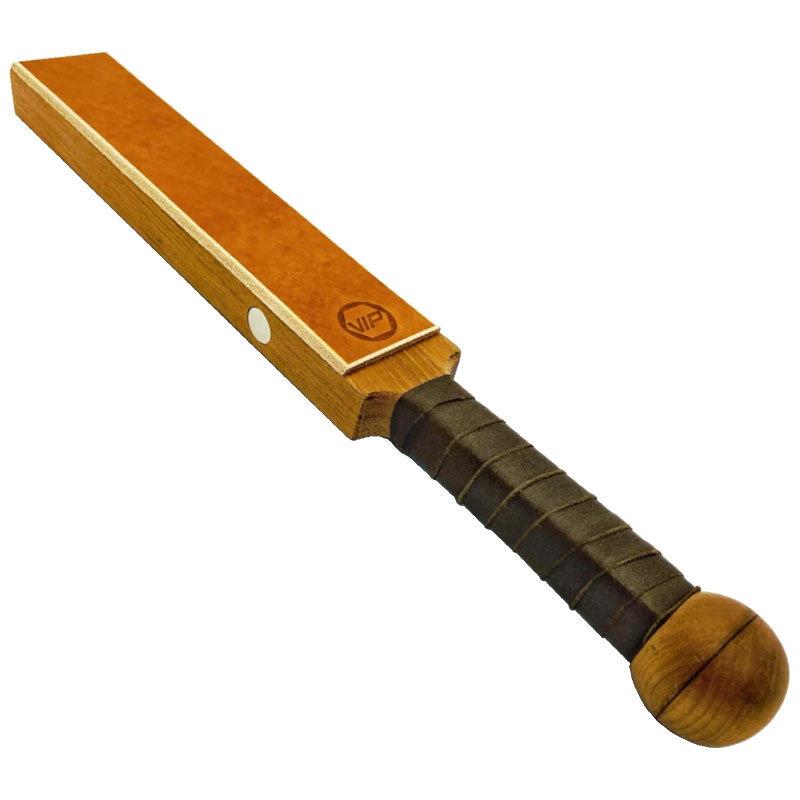 "VIP Exotic Wood Paddle 14.5"" (37 cm) medium version"
