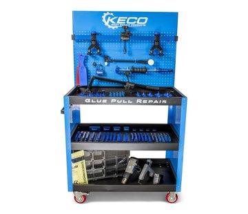 KECO Keco Level 1 Glue Pull Collision Pro Kit with Cart - 220 V