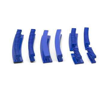 KECO Centipede Curved Variety Pack Smooth glue tabs - 8 pcs