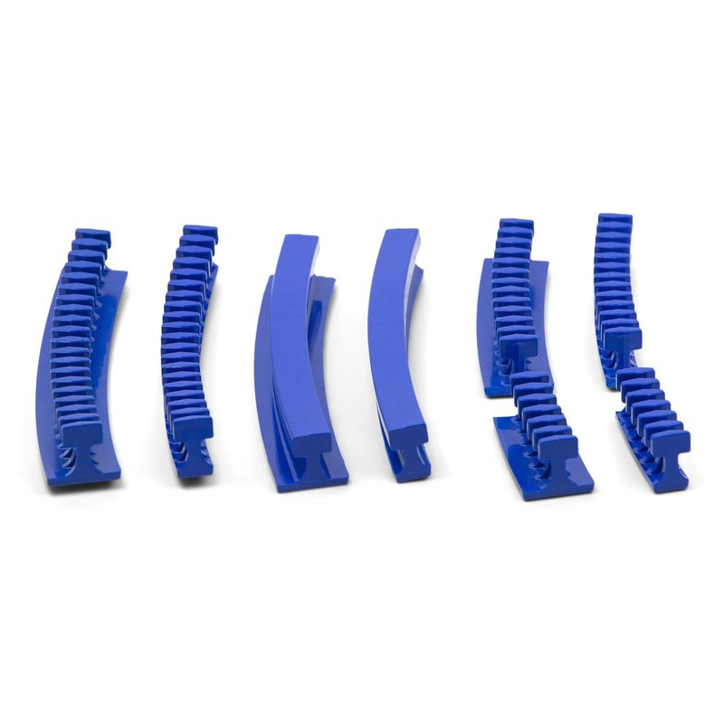 Centipede Curved Variety Pack Smooth glue tabs - 8 pcs