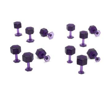 KECO Dent Reaper Variety Pack Purple Hex Tabs - 12 pcs