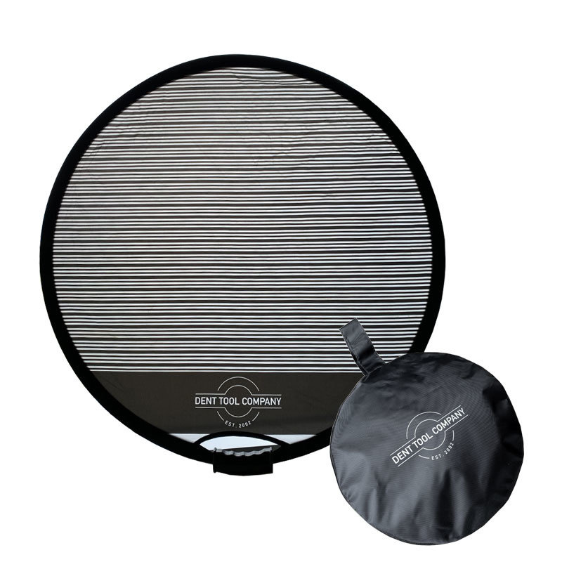 Reflector screen foldable