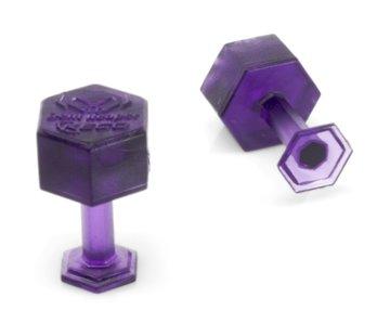 KECO Dent Reaper Dead Center 10 mm Purple Hex Tabs - 10 pcs