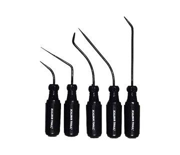 """Xcalibur Tools Xcalibur screwdriver set 3/16"""" Black Edition - 5 pcs"""