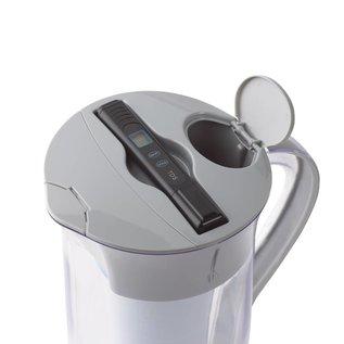 Zerowater 1,9 liter ronde waterfilterkan met TDS-meter, incl. filter
