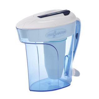 Zerowater 2,8 liter waterfilterkan met gratis TDS-meter, incl. filter