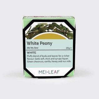 Mei Leaf Witte thee - White Peony, Bai Mu Dan