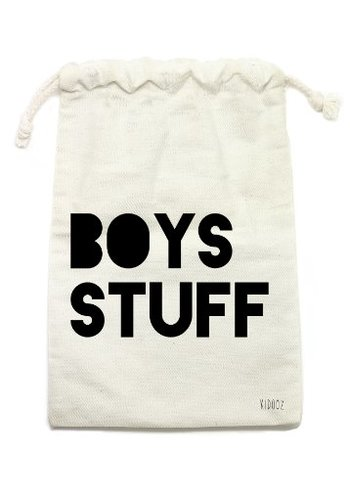 KIDOOZ Cotton bag BOYS STUFF