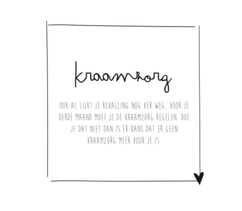 Mijn negen maanden | ZWART