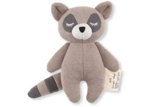 KONGES SLØJD Mini raccoon knuffel