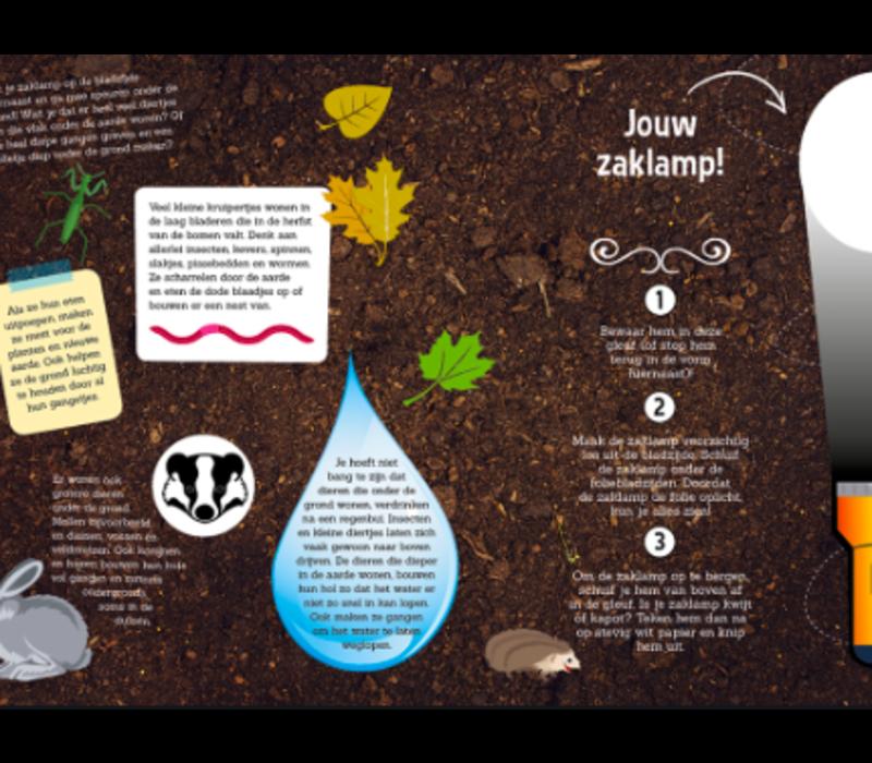 Zaklampboek: speuren onder de grond