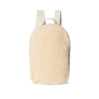STUDIO NOOS Mini chunky backpack teddy ecru