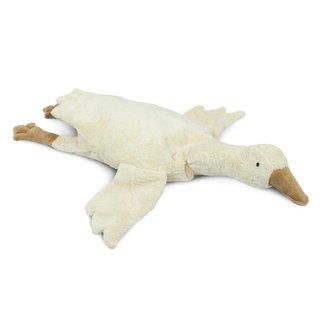 SENGER NATURWELT  Cuddly animal Goose large white - warmtekussen