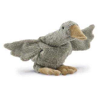 SENGER NATURWELT  Cuddly animal Goose small grey vegan - warmtekussen
