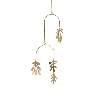À LA Mobiel brass leaves