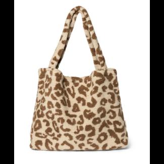 Teddy leopard ecru bag {limited edition}