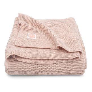 JOLLEIN Dekentje basic knit pale pink