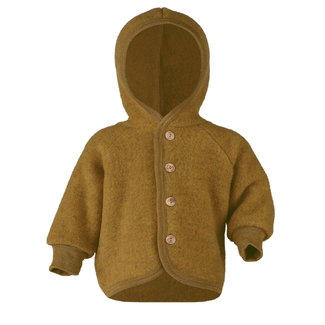 ENGEL NATUR Jasje virgin wool fleece saffraan melange