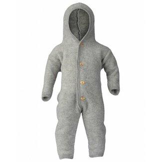 ENGEL NATUR Overall virgin wool fleece grey melange