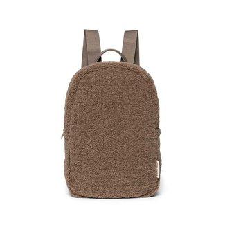 STUDIO NOOS Mini chunky backpack teddy brown