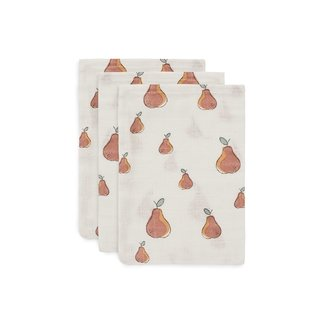 JOLLEIN Hydrofiel washandjes pear set/3