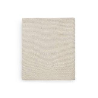 JOLLEIN Dekentje basic knit nougat