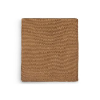 JOLLEIN Dekentje 100x150 cm basic knit caramel