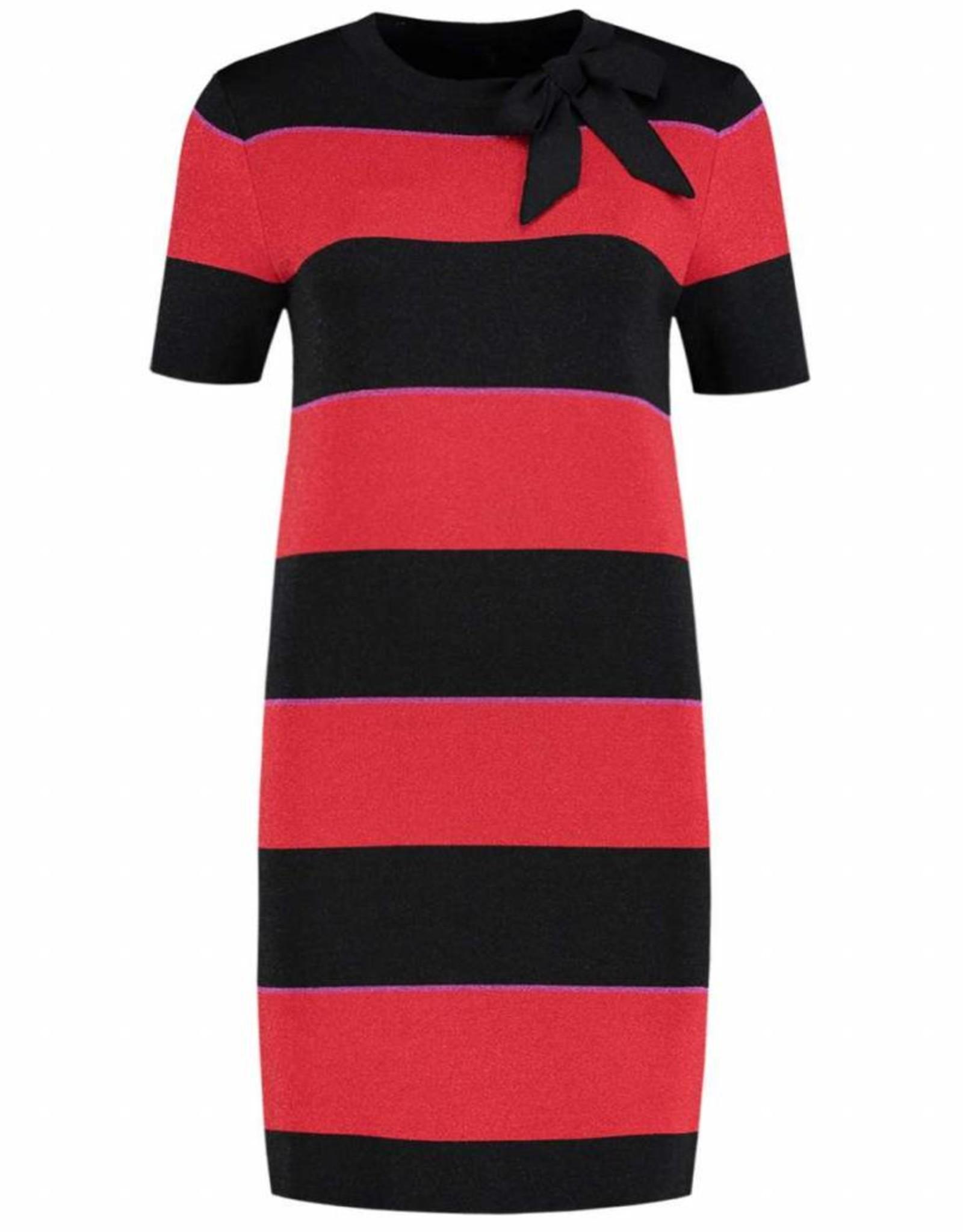 Nikkie Jolien Stripe Bow Dress N7-5641805