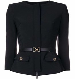 Elisabetta Franchi Women's Jacket with Belt GI08286E2