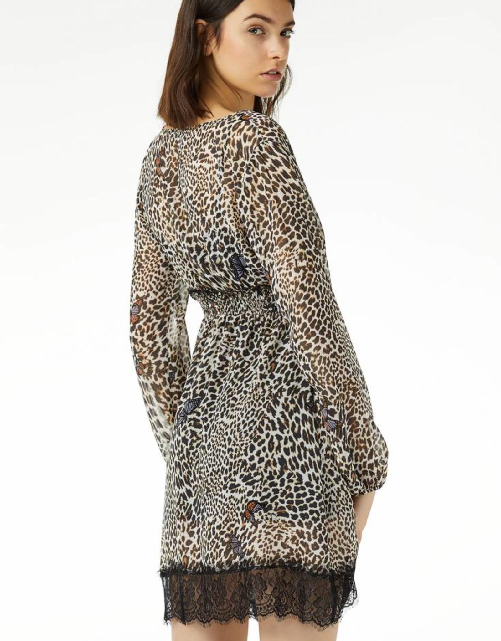 Liu Jo Abito Manhattan Corto Leopard W19188T0197