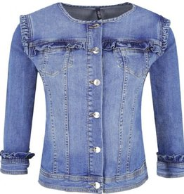 Liu Jo Giubbino Gritty Den. Blue Jacket U19016D4313