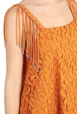 Just Cavalli Dress Dark Cheddar S04CT0855-N39265