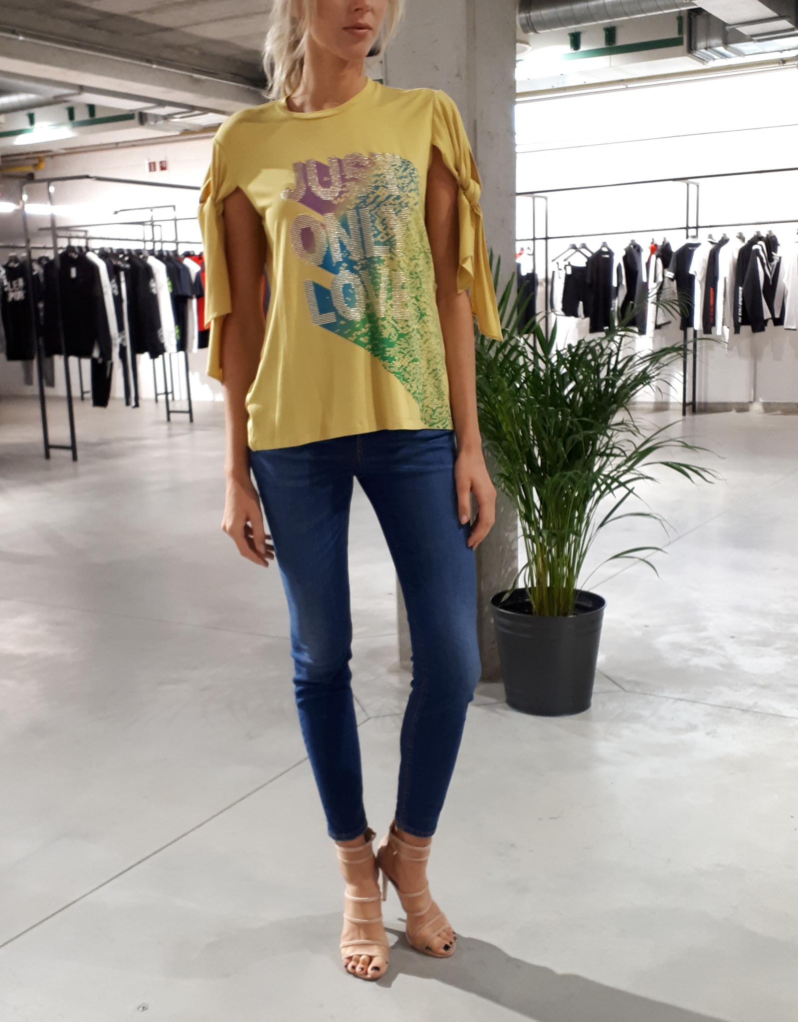 Just Cavalli T-Shirt Lemon Drop S04GC0318-N21372