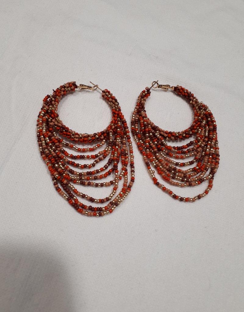 About accessories Oorbellen met kralen