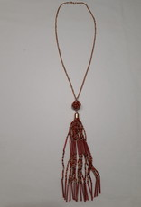 About accessories  Lange ketting met kralen