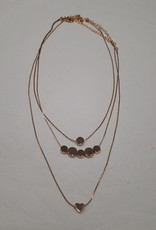 About accessories Driedelige ketting