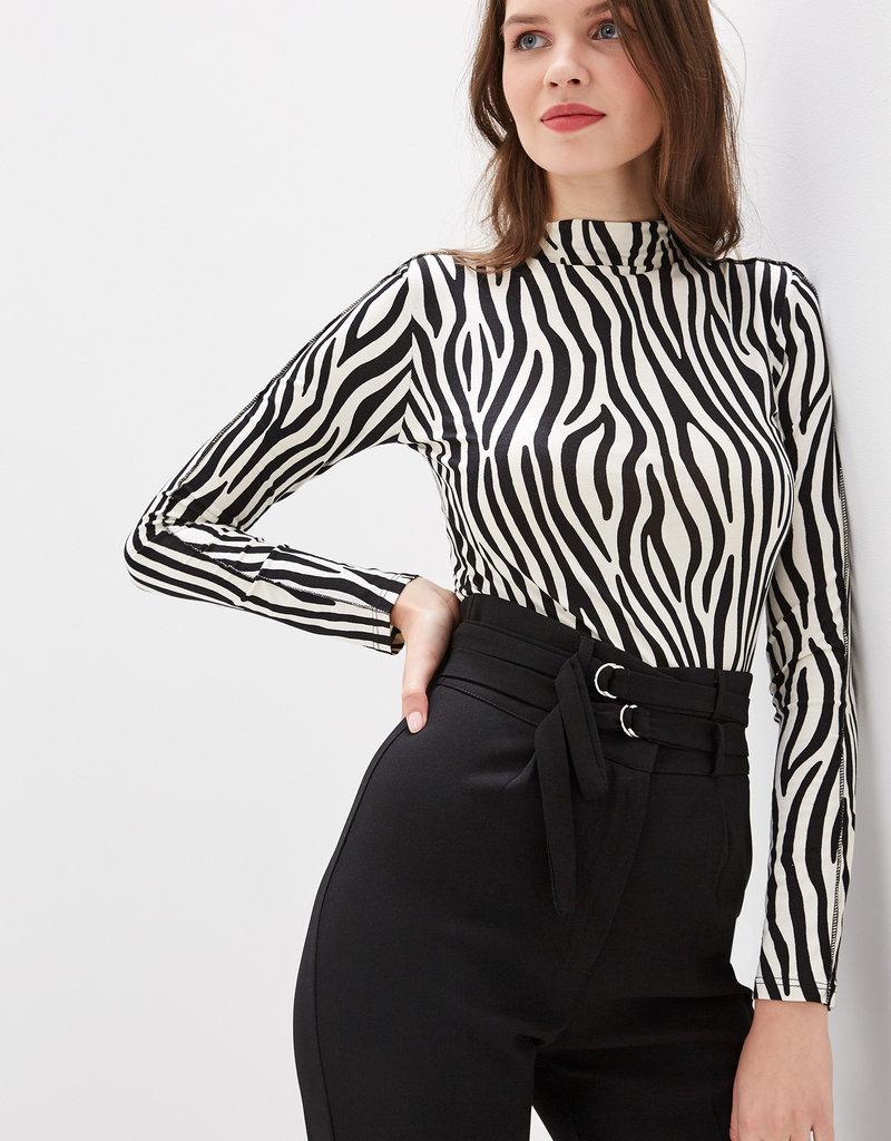 Miss Miss  Zebra Sweater CFC0042087004