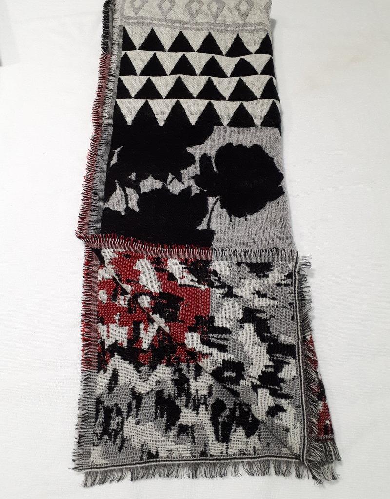 About accessories Dames Sjaal met Dessin 70 x 180 cm