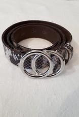 About accessories Riem Met Slangenprint