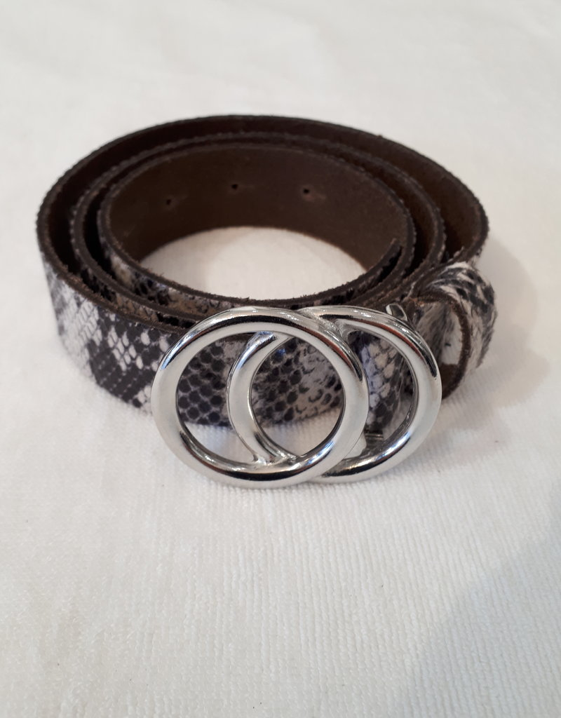 About accessories Belt With Snake Print