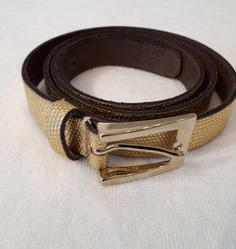 About accessories Belt golden