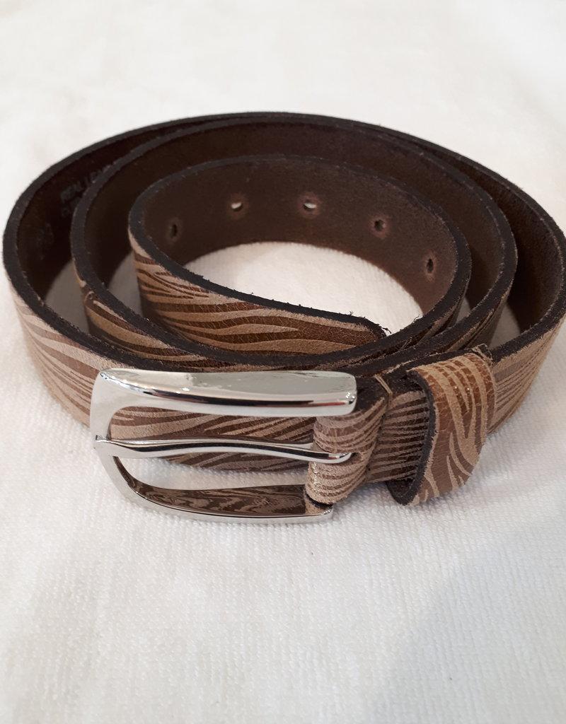 About accessories Riem Zebraprint Bruin
