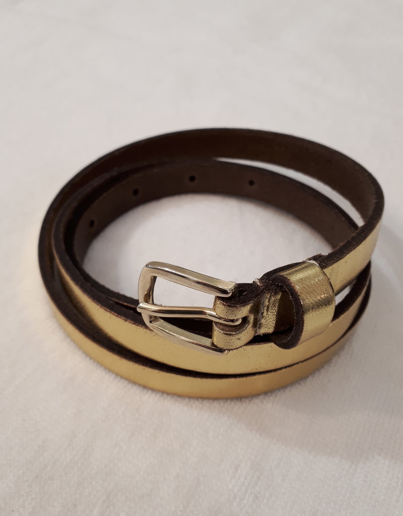 About accessories Belt Narrow Gold
