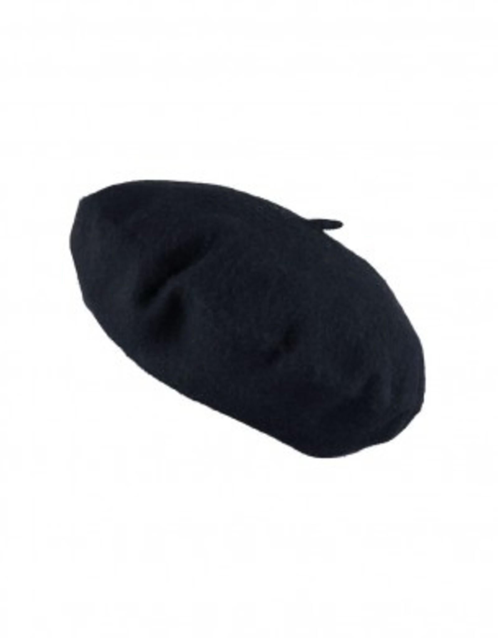 About accessories Cap Beret Black 57 cm