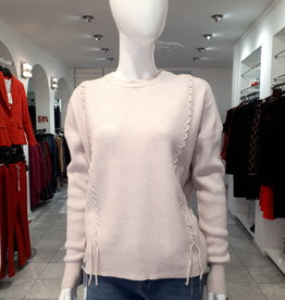 Ribbed sweater Light pink