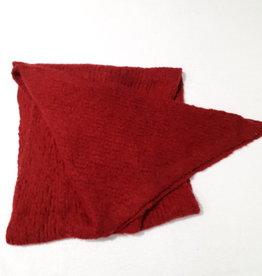 About accessories Ladies Scarf Dark red